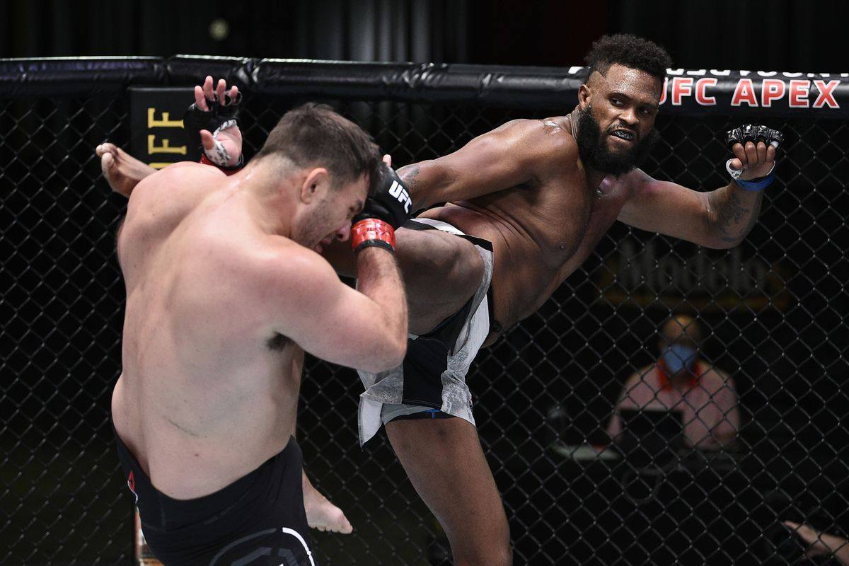 UFC on ESPN 12 results: Maurice Greene somehow strangles Gian ...