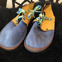 Men's desert boot, $120