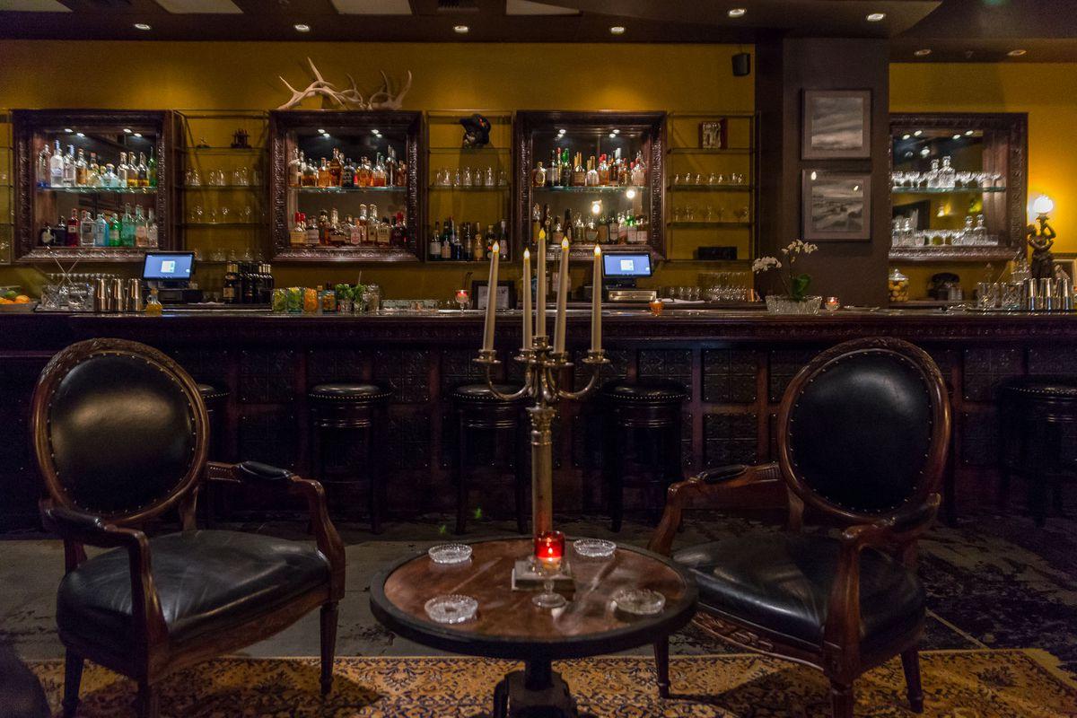 The bar at Old Soul