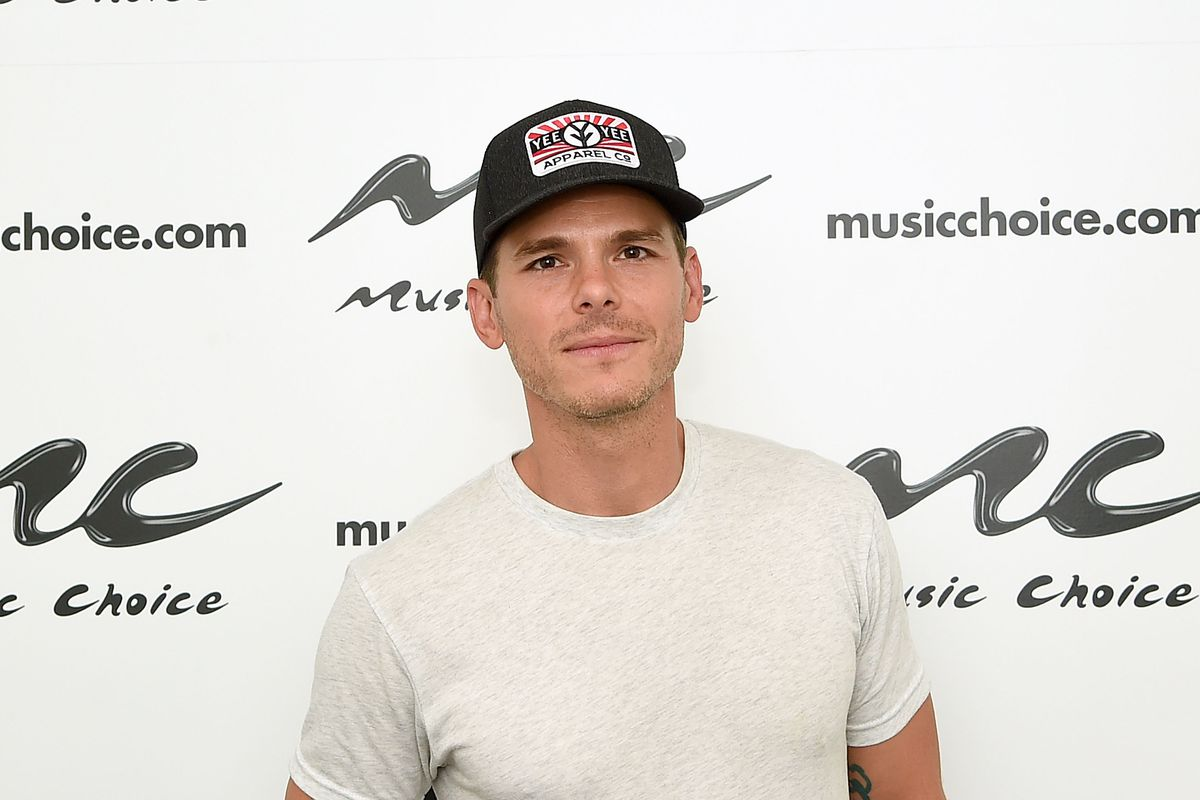 NEW YORK, NY - AUGUST 16: Granger Smith visits Music Choice at Music Choice on August 16, 2018 in New York City. (Photo by Jamie McCarthy/Getty Images)