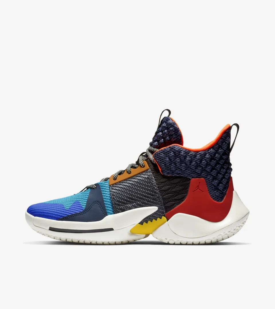 The Russell Westbrook Why Not Zer0.2 Jordan Brand signature shoe ...
