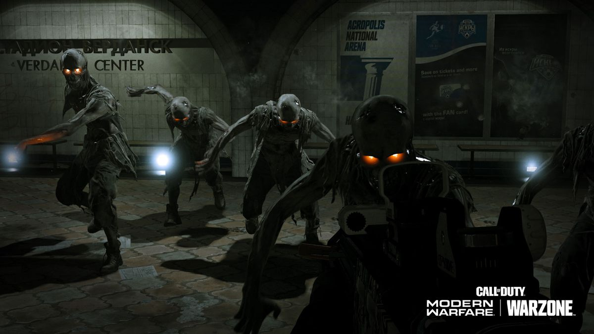 Zombie Royale game mode Modern Warfare and Warzone