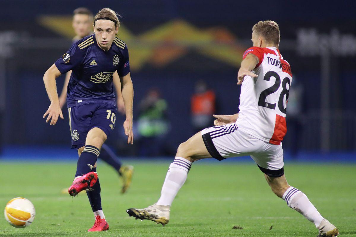 Dinamo Zagreb v Feyenoord: Group K - UEFA Europa League