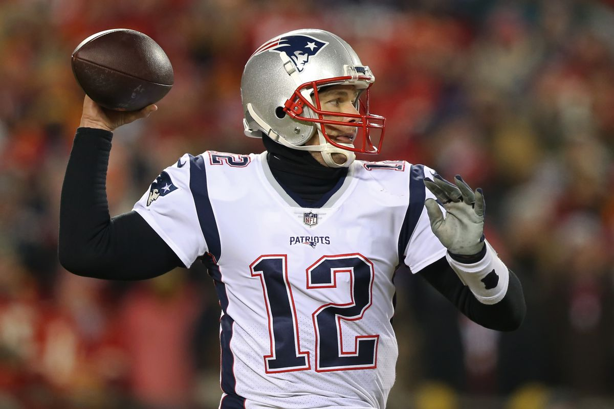 bc6a55b8 New England Patriots links 7/15/19 - Brady NFL best % passes completed 10+  yards downfield, most attempts