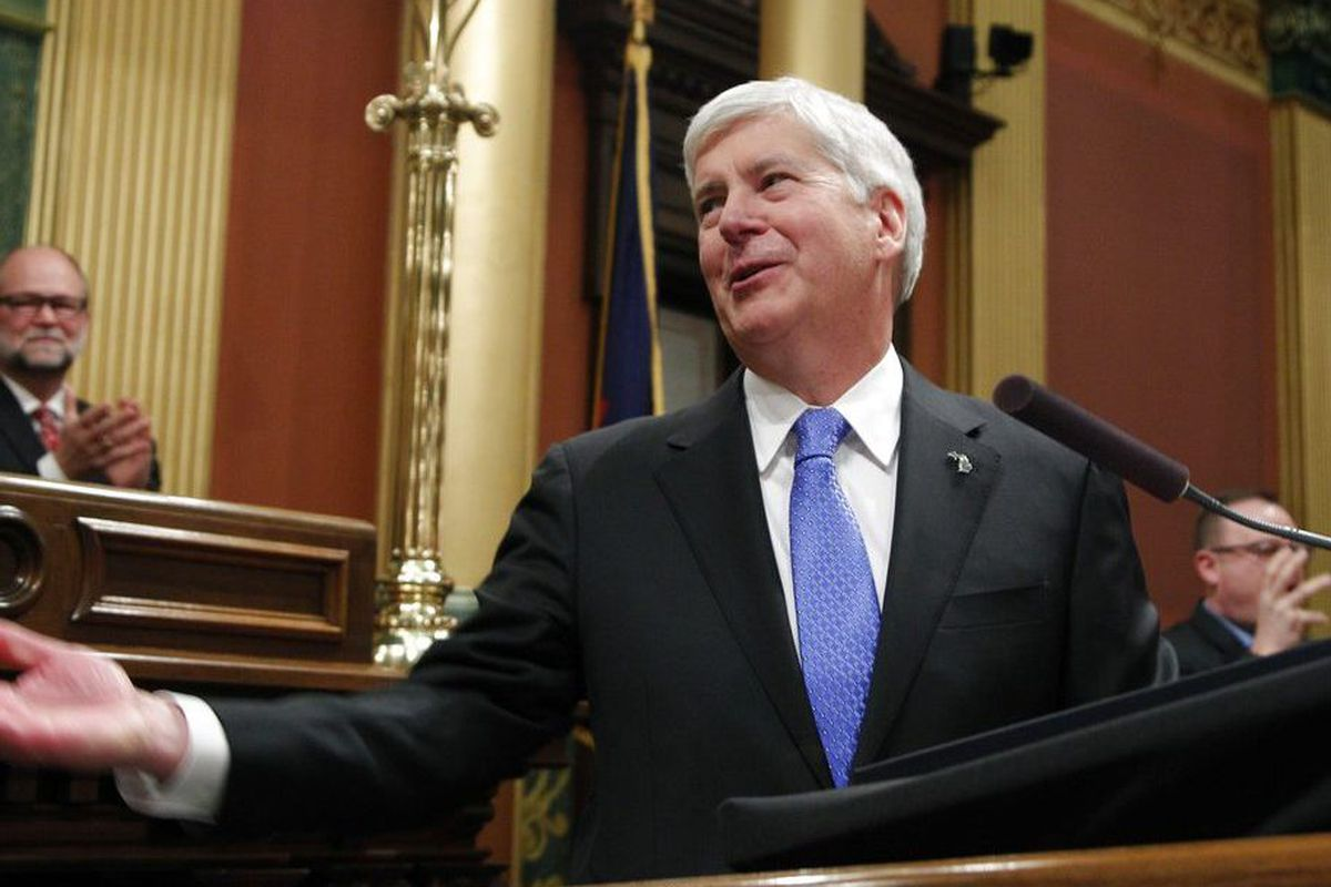 Snyder signs bill to make Michigan ballot drives tougher - Chicago