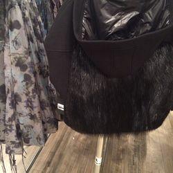 Beaver fur coat, size 0, $400 (was $2,000)
