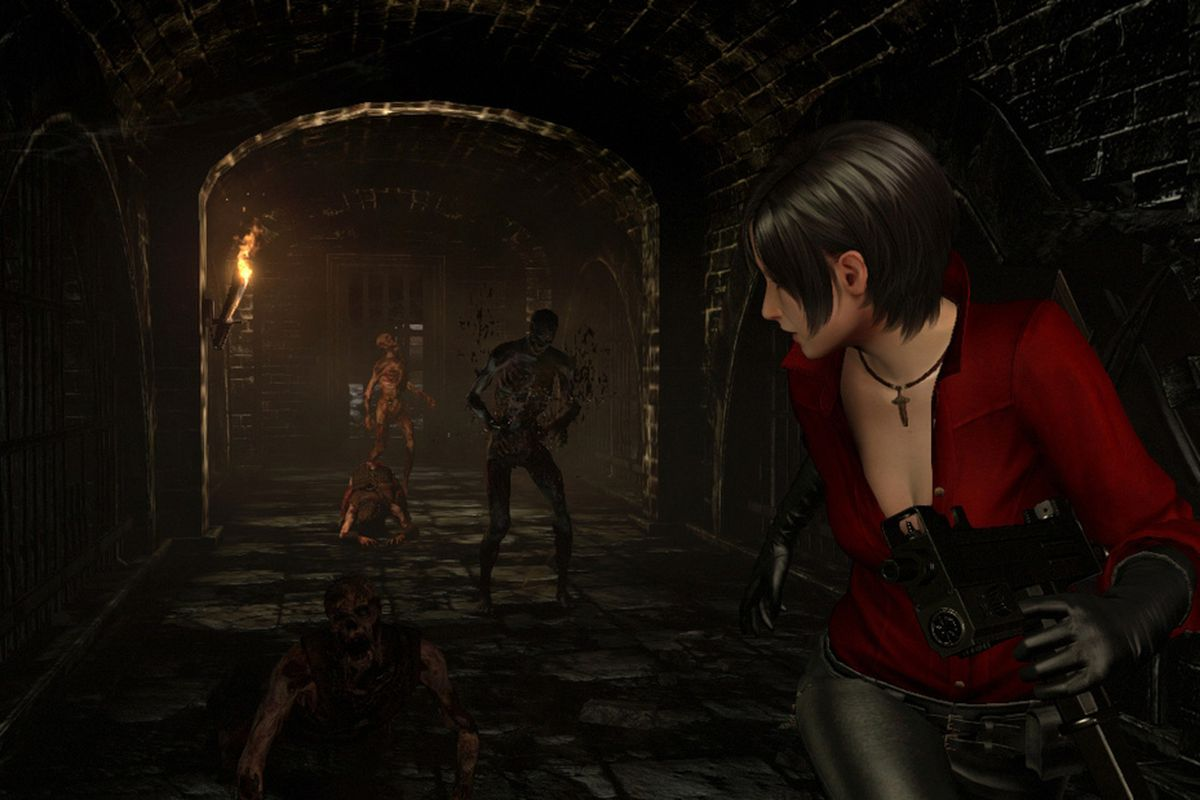 Resident Evil 6 S Ada Wong Campaign Highlighted In Gameplay