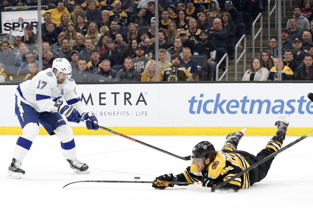 NHL: MAR 07 Lightning at Bruins