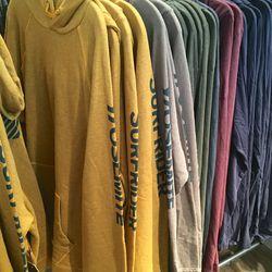 Men's sweat hoodies, $50