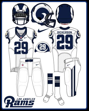 New Nfl Uniforms 2020 LA Rams 2020. New uniforms. New colors. Old school fans?   Turf