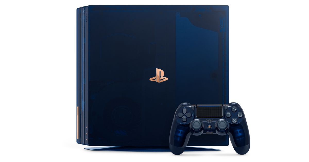 Sony celebrates selling 500 million PlayStations with a limited edition 2TB PS4 Pro