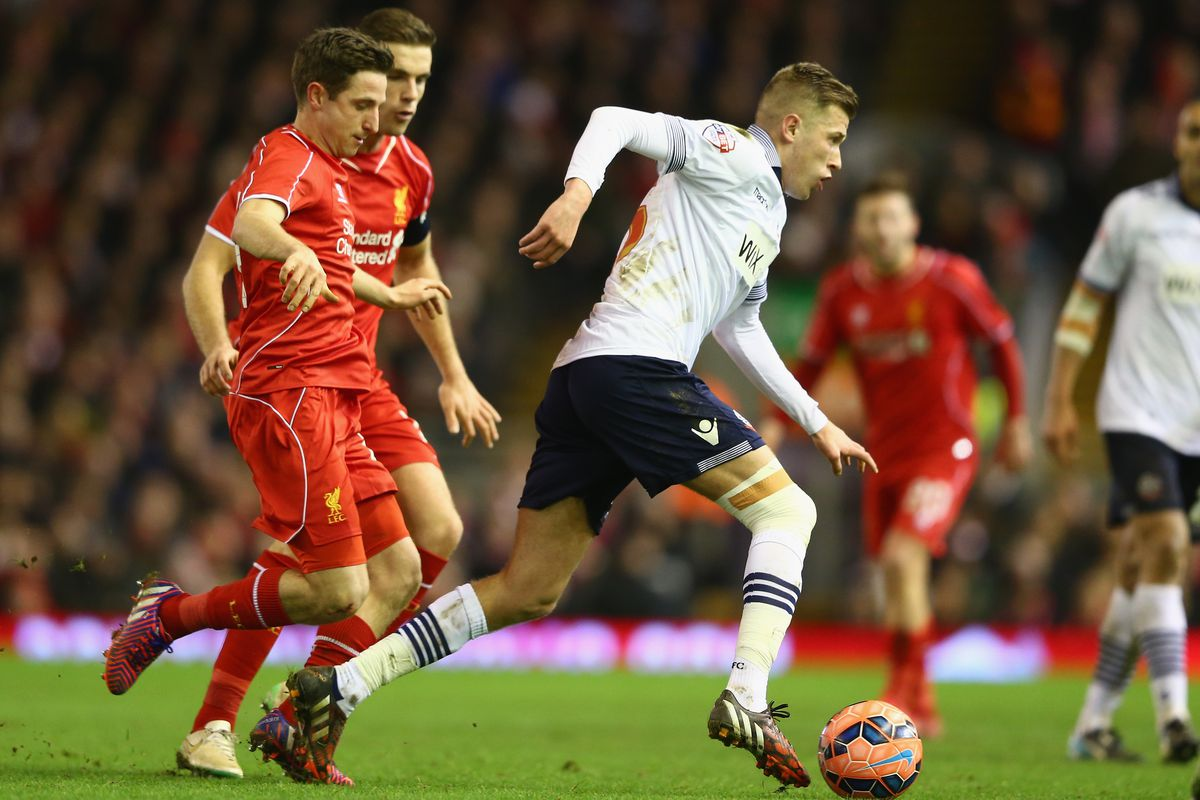 Josh Vela's performance against Liverpool was a particular highlight in an excellent season for the youngster