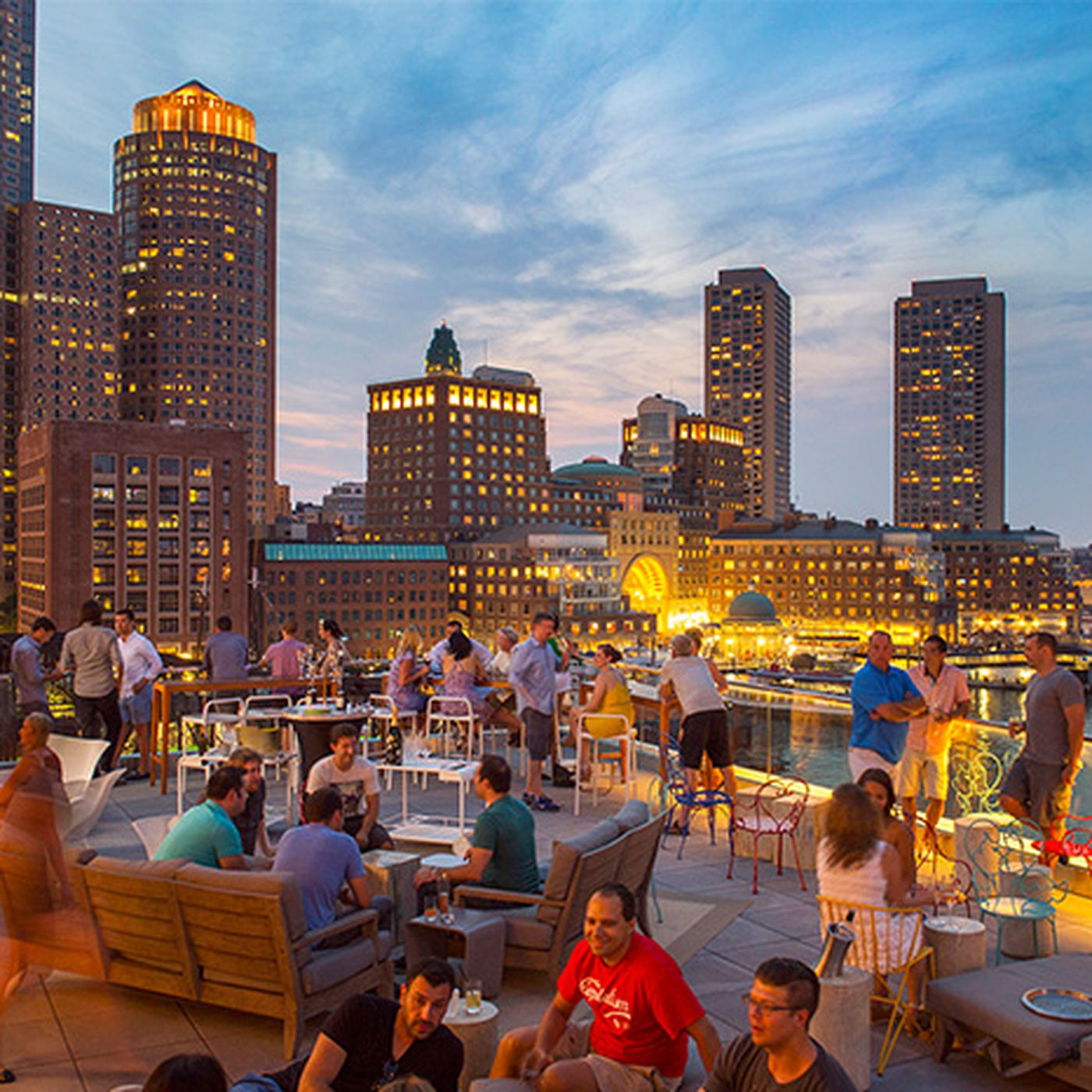 Rooftop Dining And Drinking Eater Boston
