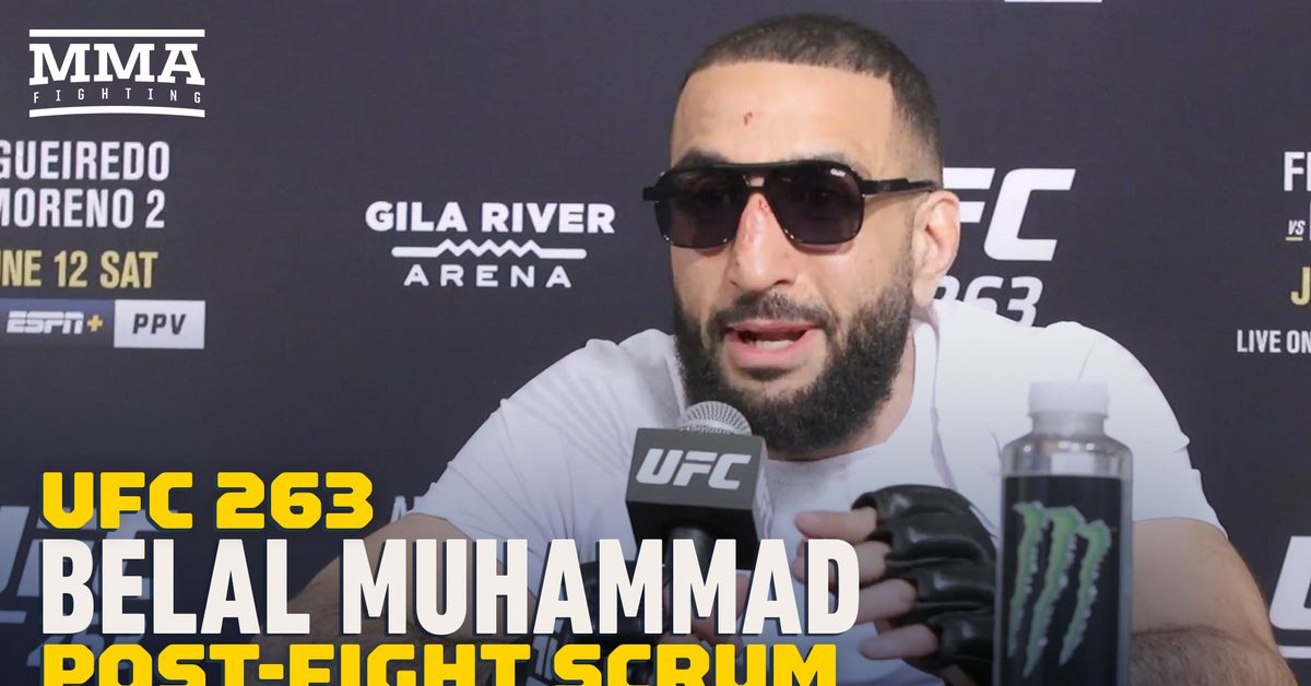 Belal Muhammad: 'I would have broke Leon Edwards in Round 5' at UFC 263