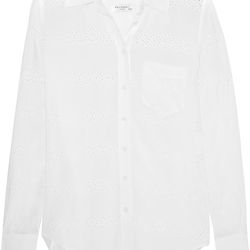 Equipment silk shirt, $85