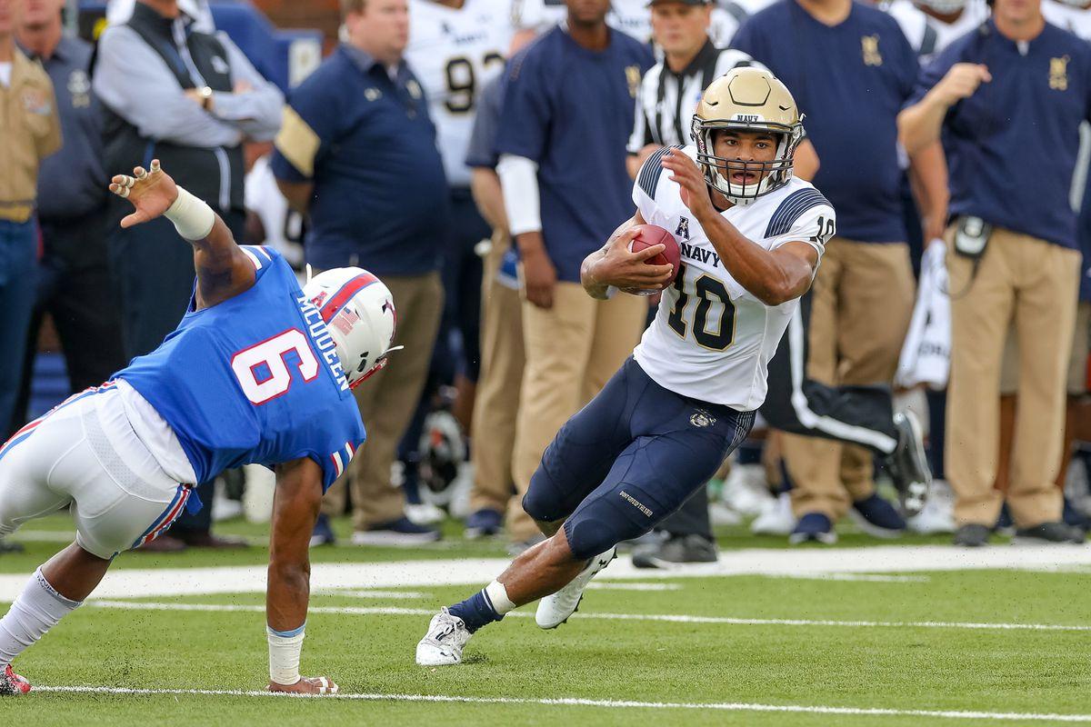 NCAA Football: Navy at Southern Methodist
