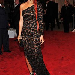 Rihanna wearing Stella McCartney -- said it before, we'll say it again: We love this look on her.
