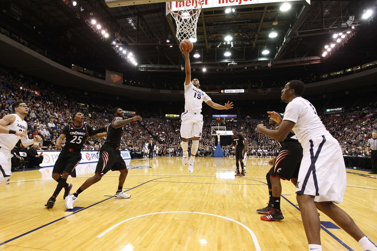 Myles Davis found all kinds of room against UC.