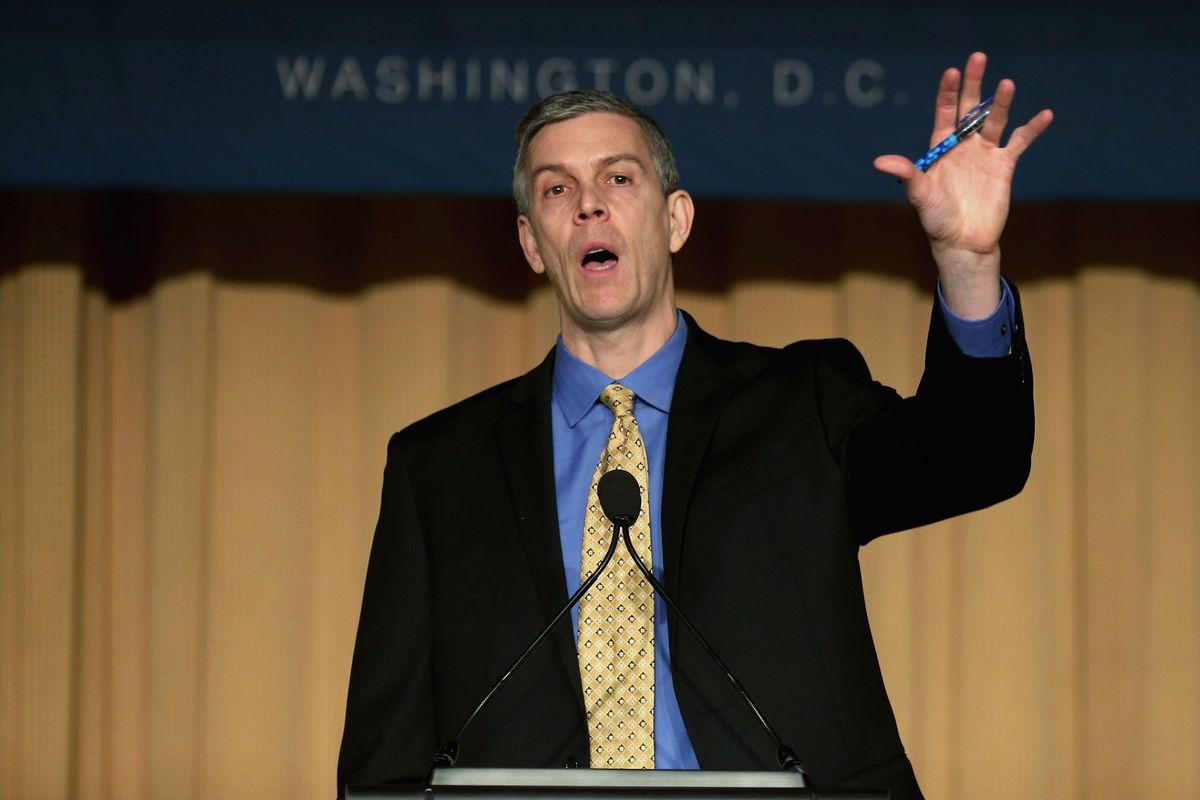 Arne Duncan Discusses Administration's Plan For Education Reform