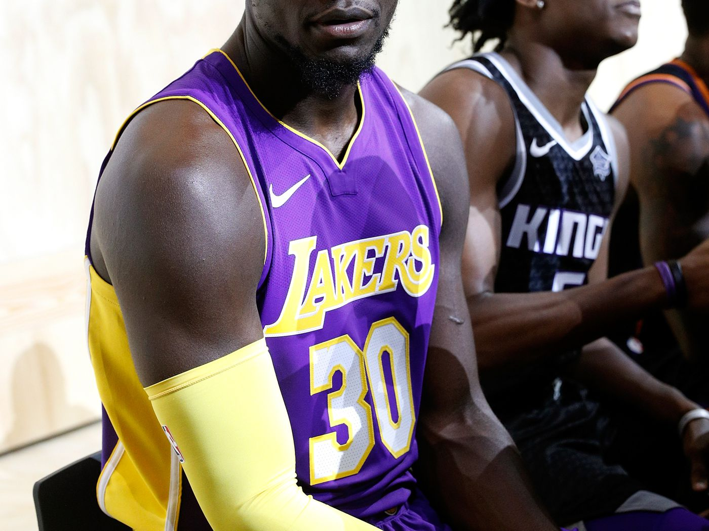 Lakers officially sign jersey ad patch deal with major e-commerce ...