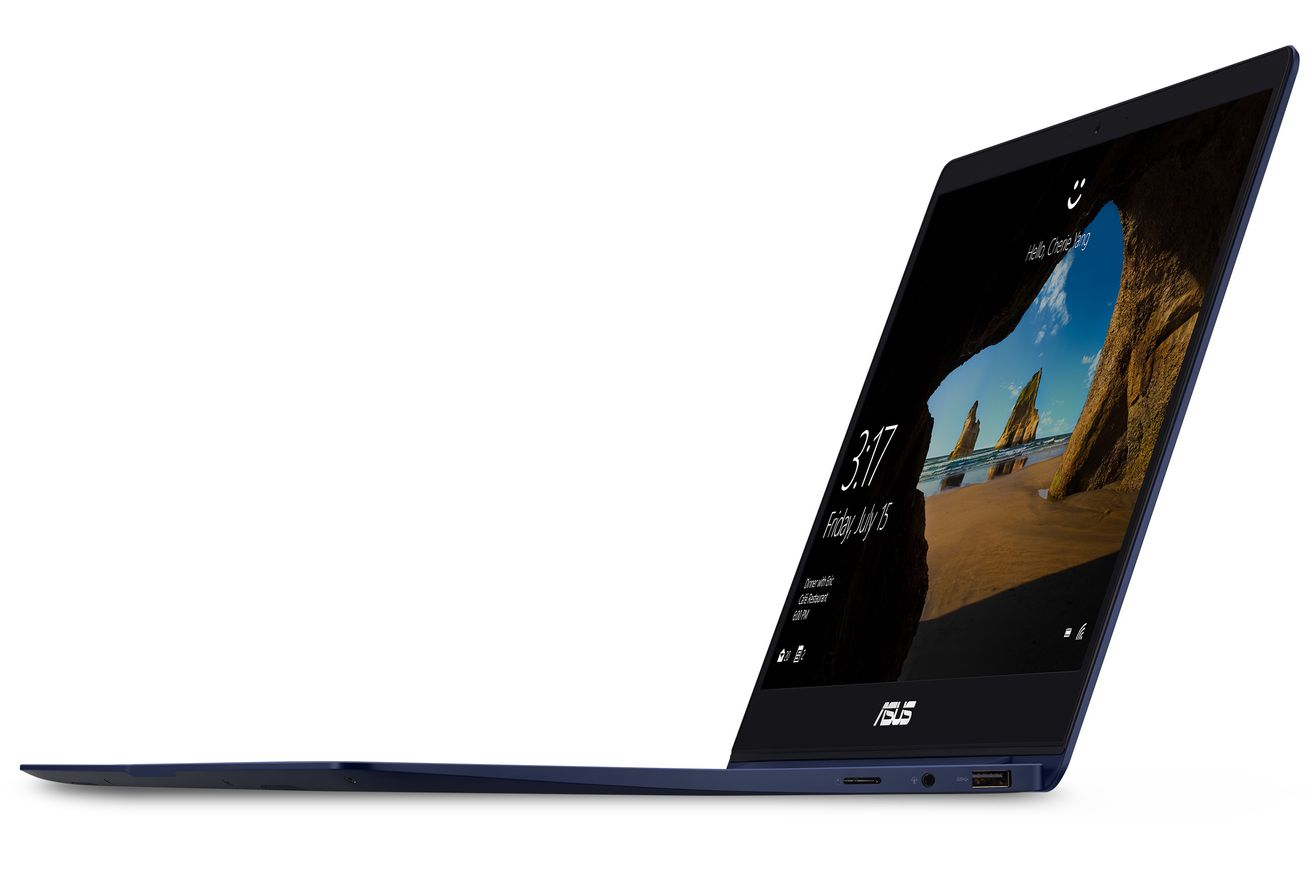 the new zenbook 13 includes discrete graphics in an ultraportable package