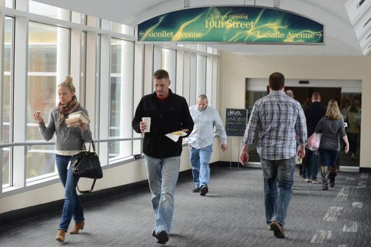 """Target employees in jeans. Photo <a href=""""http://www.bizjournals.com/twincities/news/2014/03/06/more-details-on-targets-new-dress-code.html?s=image_gallery"""">via</a>."""