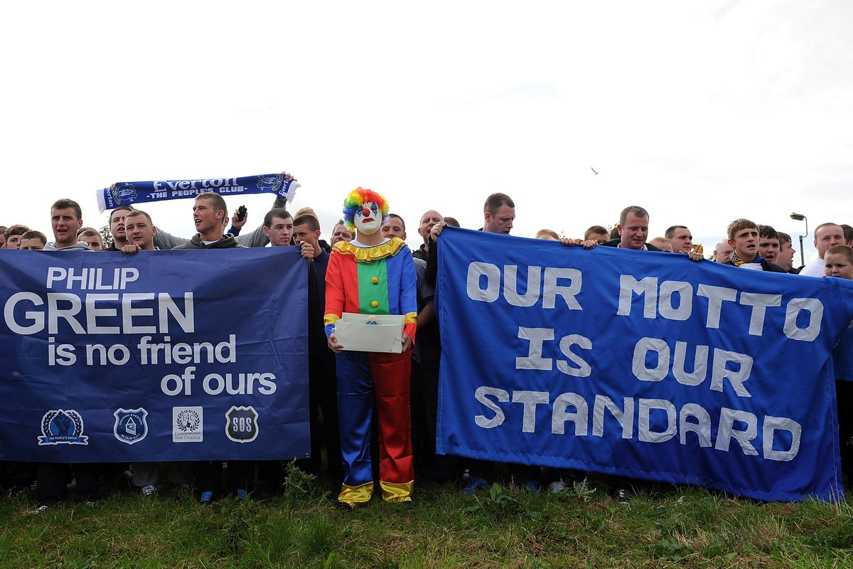 Every great protest needs a clown. Wonder why they didn't use Martinez.