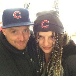 Nicole and me...