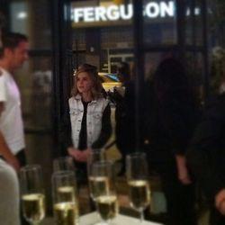 """Kiernan Shipka at the Rag & Bone LA opening party"" via <a href=""http://instagram.com/p/RRMuK3iuo3/"">Racked LA</a>"