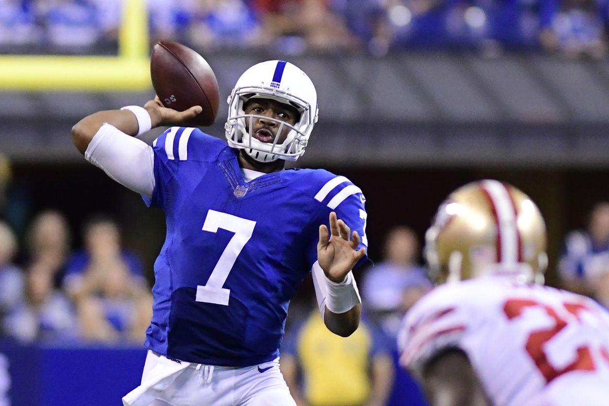 NFL: San Francisco 49ers at Indianapolis Colts