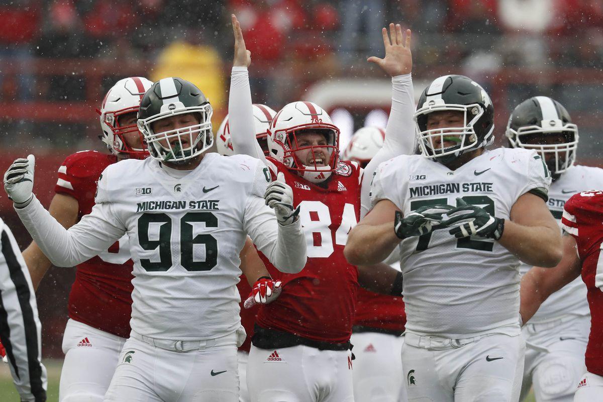 NCAA Football: Michigan State at Nebraska