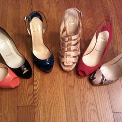 A rainbow of Louboutins