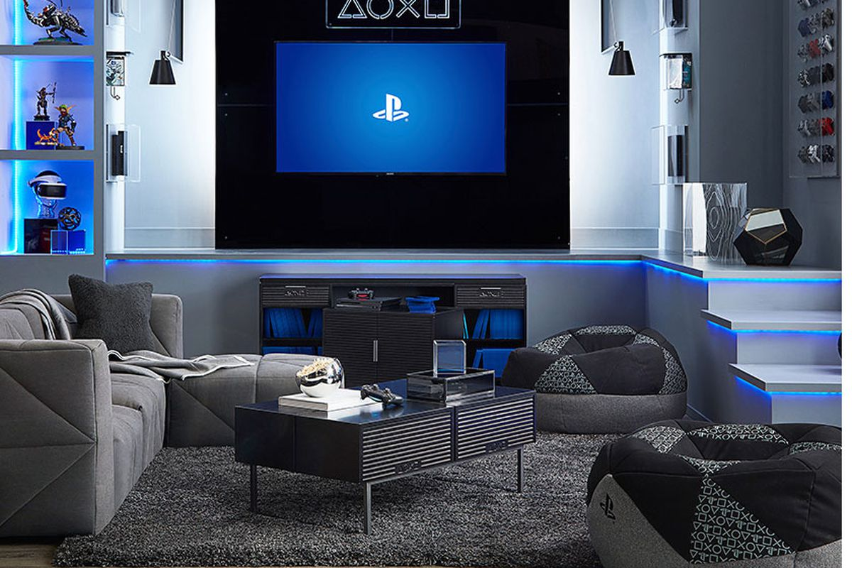 Pottery Barn S Playstation Furniture Is The New High End Gamer Chic