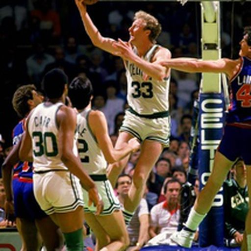 Larry bird playoffs