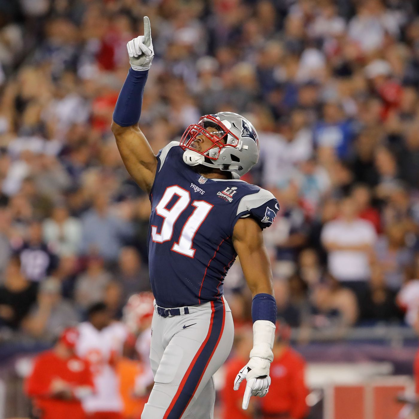 New England Patriots scouting report: defensive end Deatrich Wise ...