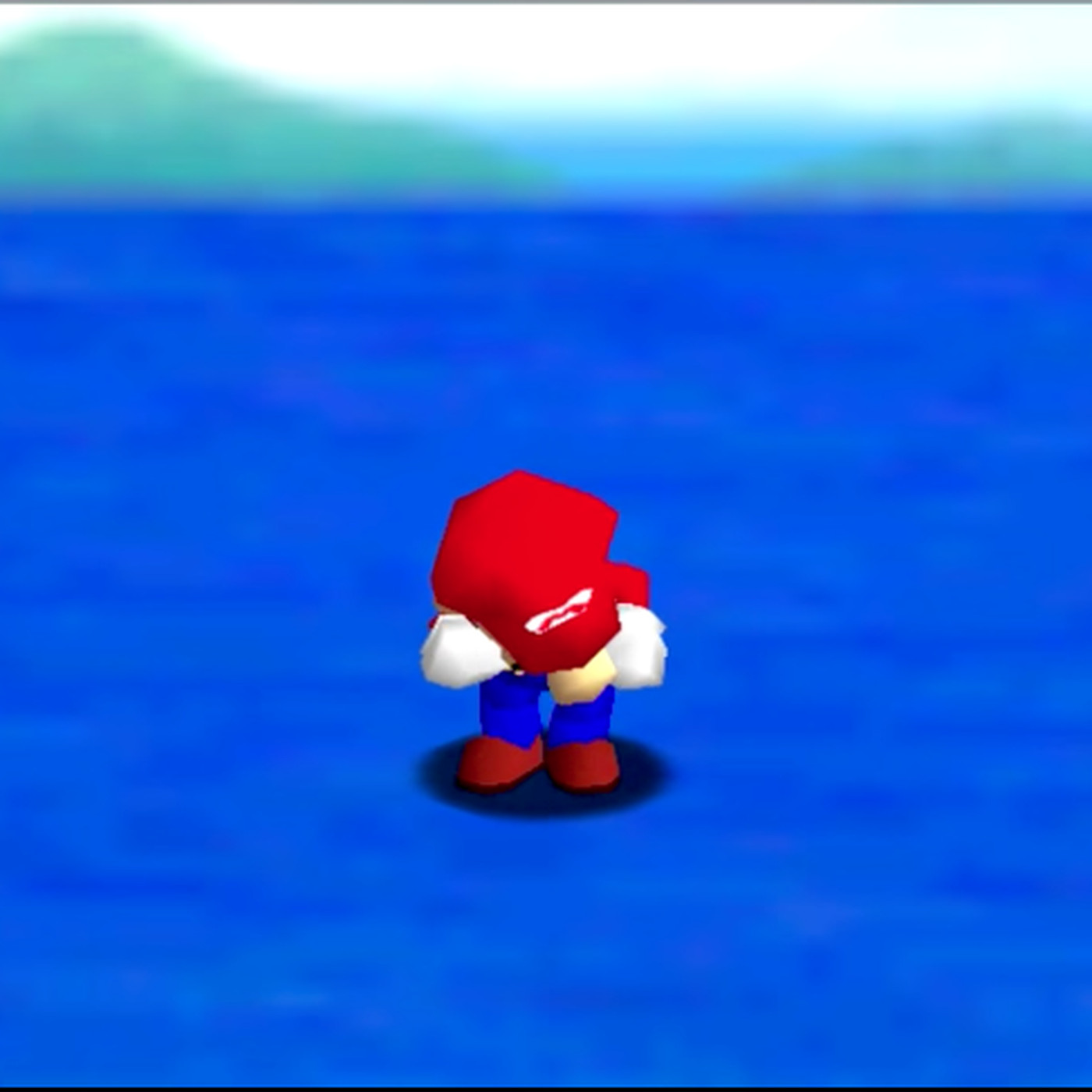 Mario crying in Super Mario 64 is pure and heartbreaking