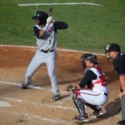 Shawon Dunston, Jr. at bat