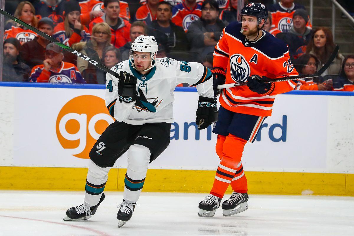 NHL: FEB 06 Sharks at Oilers