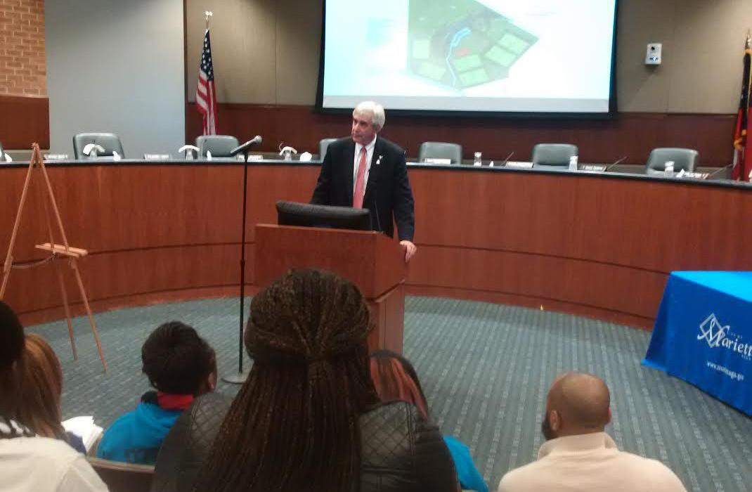 Marietta Mayor Steve Tumlin