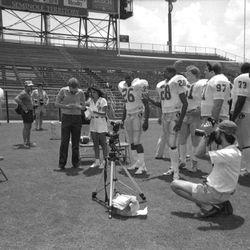 1985 photo session