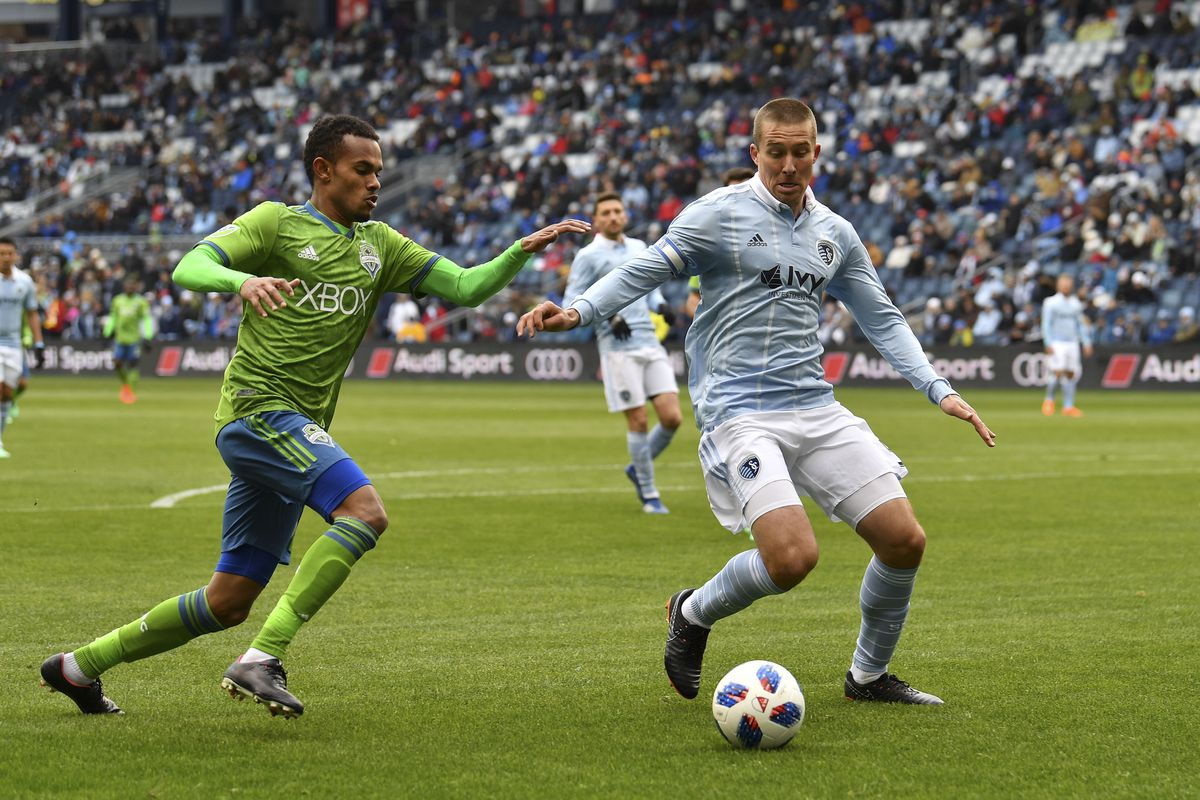 MLS: Seattle Sounders at Sporting KC