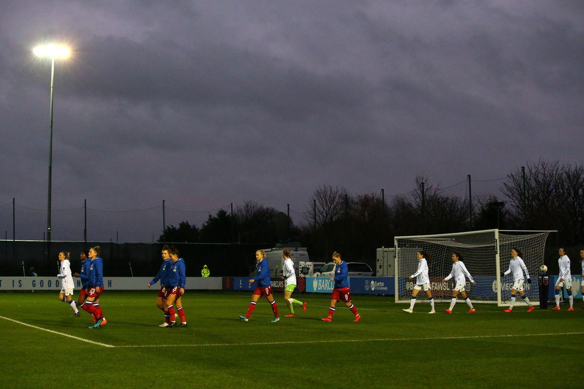 Everton Women v Reading Women - Barclays FA Women's Super League
