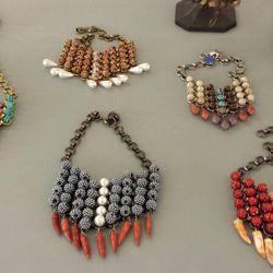 Bib necklaces, $250