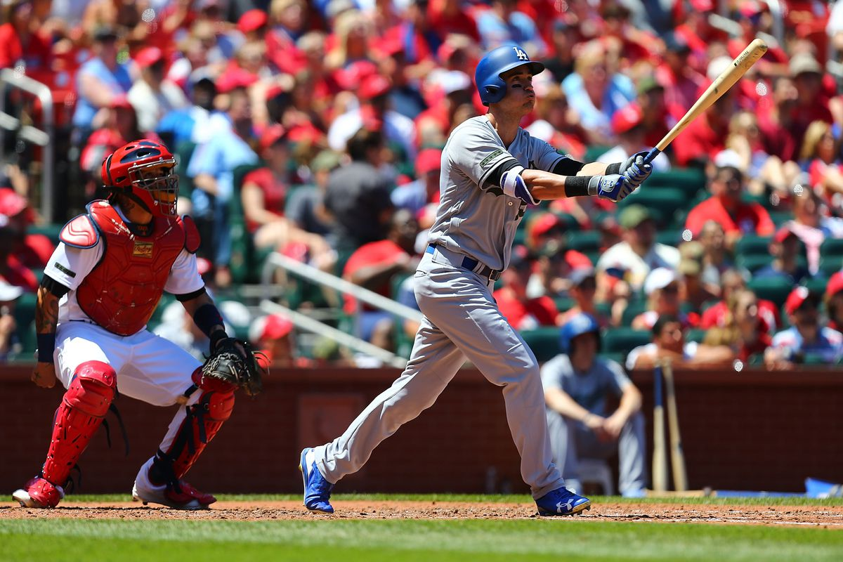 Dodgers rough up Leake to knock off Cardinals