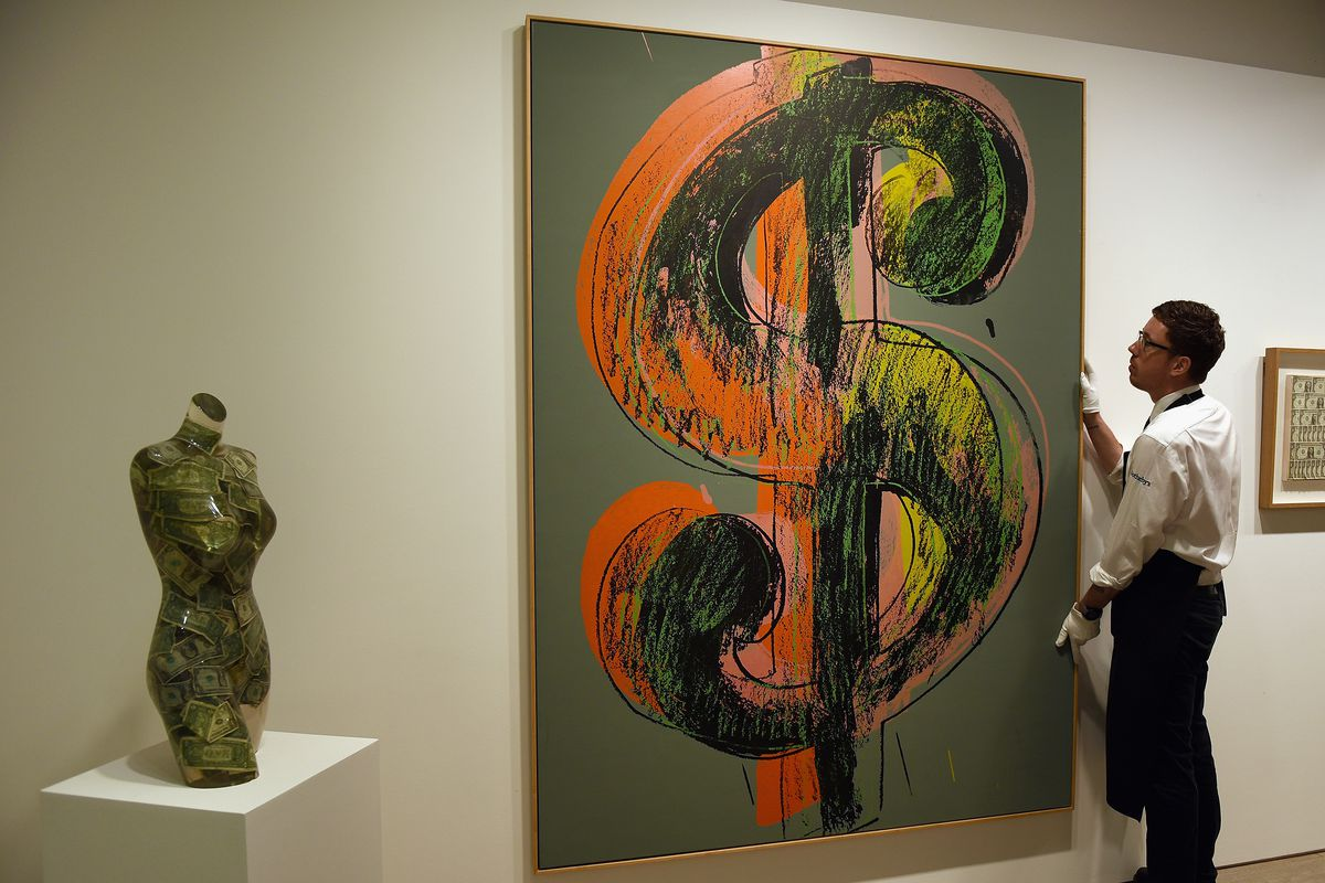 Sothebys Preview The Art Of Making Money Collection Worth £50million