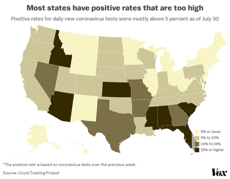 coronavirus_positive_rate_map America is now a Covid-19 hot spot