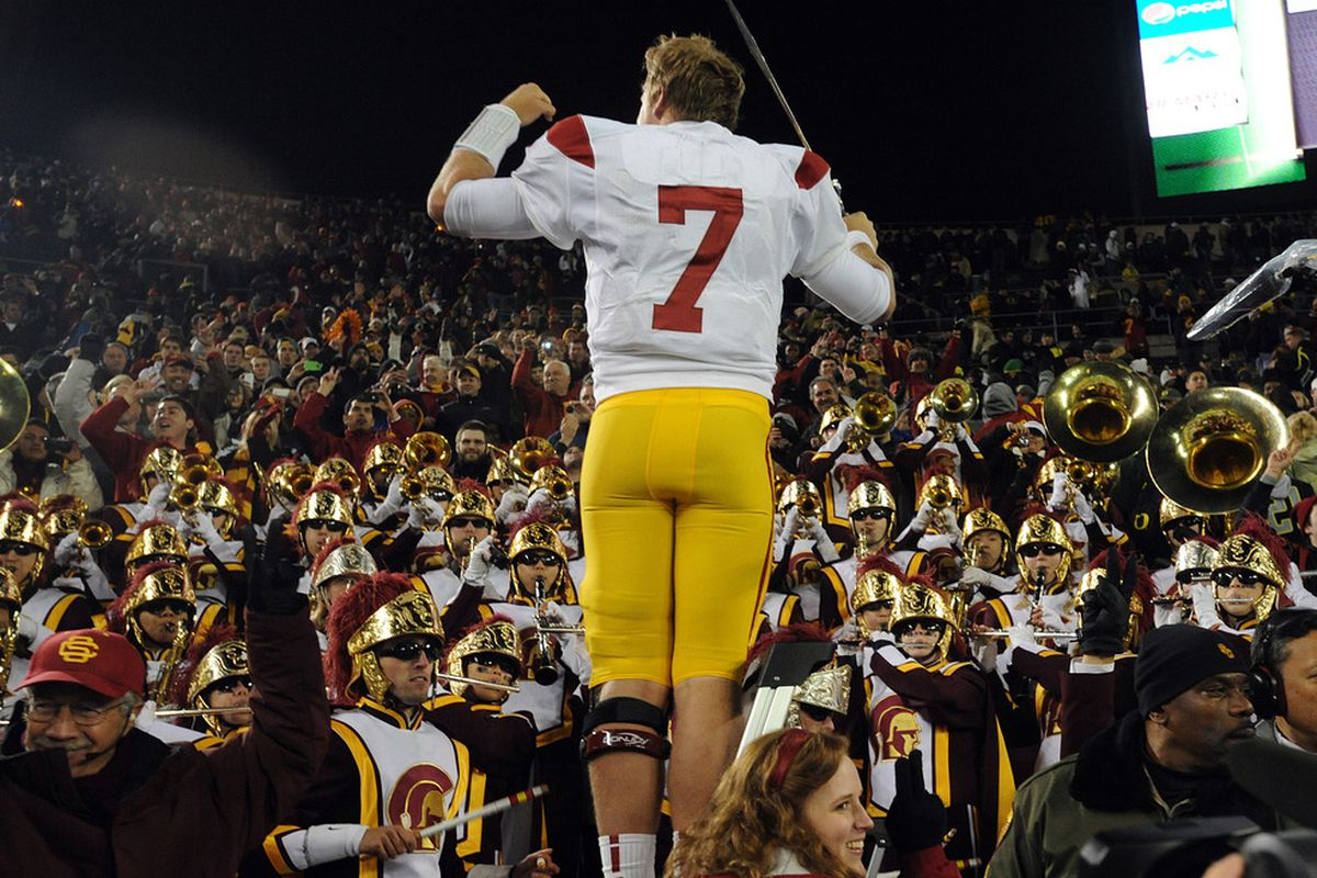 I have my doubts Barkley is going to be doing this again this year after the Duck game.