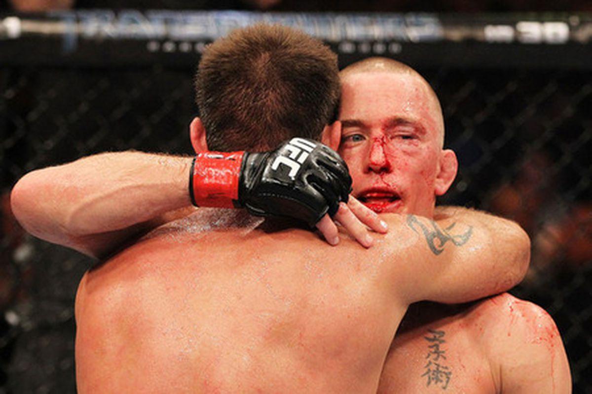 UFC 129 gsp vs Jake Shields