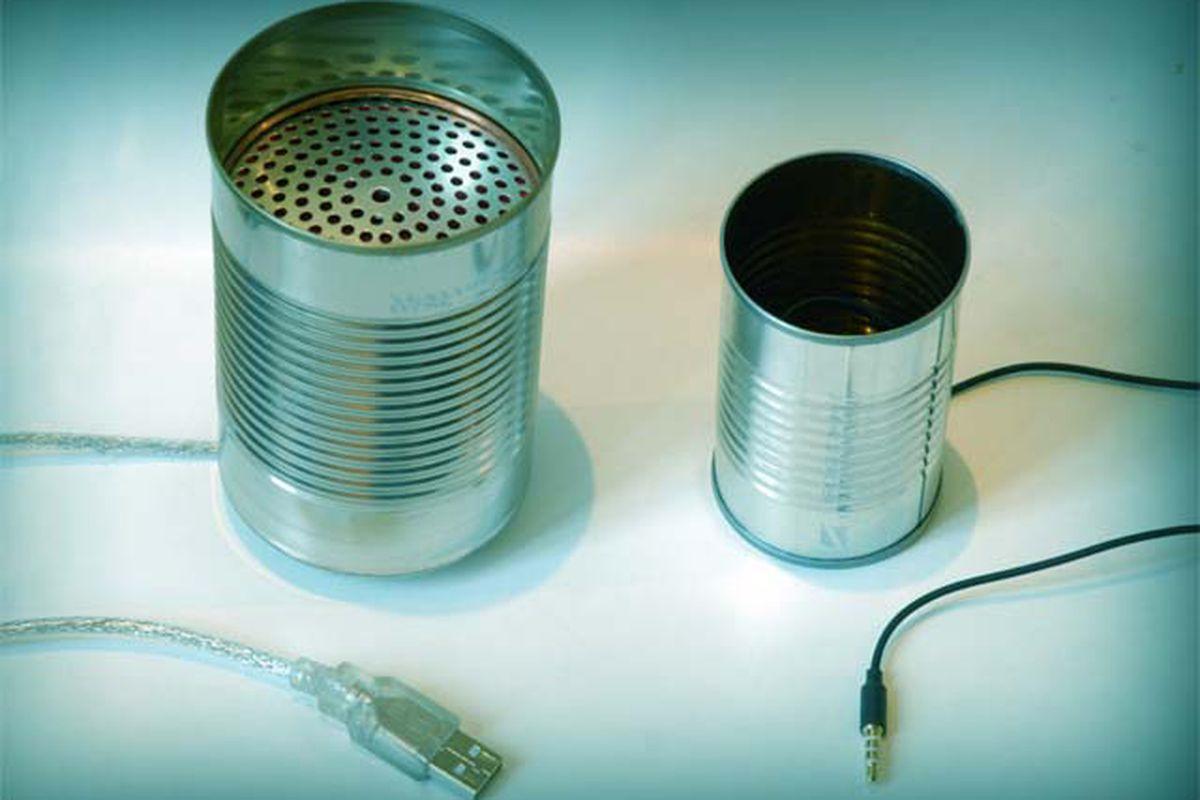 Kickstarter tin can