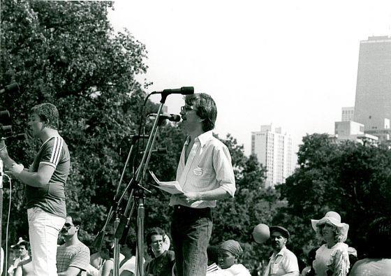 Richard Pfeiffer, circa 1980.